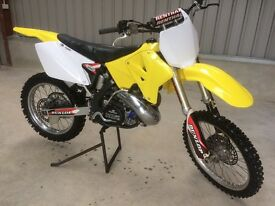 Suzuki RM 250cc motocross motorbike for sale (not quad, tractor, trailer)