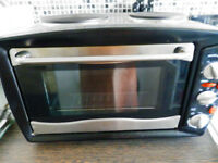 SCOTTS OF STOW STAINLESS STEEL COMPACT MINI KITCHEN WITH CONVECTION OVEN