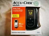 Accucheck blood glucose monitor boxed new