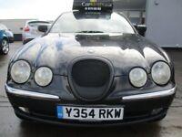 JAGUAR S-TYPE 3.0 V6 SE 4dr Auto (black) 2001