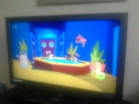 "BUSH TV - 40"" FULL HD Digital LCD TV + remote control & stand"