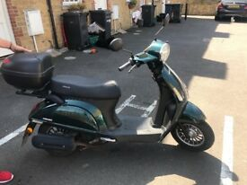 50cc moped 1 year old