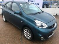 NISSAN MICRA 1.2 ACENTA DIG-S 5d 97 BHP A GREAT EXAMPLE INSIDE AND OUT (blue) 2013