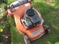 Mountfield Self propelled Mower (no Grass Box) With Roller (full working order)
