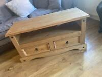 SOLID WOOD TV UNIT - PINE | Free if collect ASAP