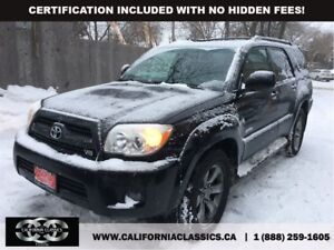 2008 Toyota 4Runner V8 LIMITED! LEATHER! SUNROOF! - 4X4