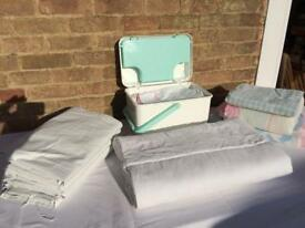 Baby accessory box, bedding and blackout curtains
