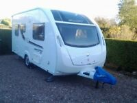 2015 2 birth SWIFT Freestyle S2 touring caravan. Immaculate condition