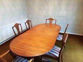 Dinning room tables and chairs
