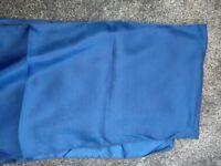 Chair bows - Royal blue