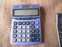 Casio Calculators – Various Multi Function