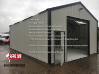 Limited stock of Steel Sheds for sale was £11995.00 offers over £5995.00