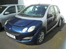 2006 SMART FORFOUR 5 DOOR BLUE PARTS BREAKING SPARES OR REPAIRS