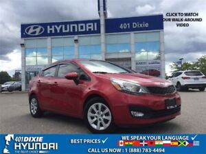 2013 Kia Rio LX|1 OWNER|HEATED SEATS|BACK-UP CAM|