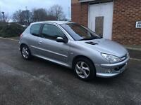 Peugeot 206 Quicksilver 1.6 **12 Months Mot**Limited Edition**Part Exchange Welcome**