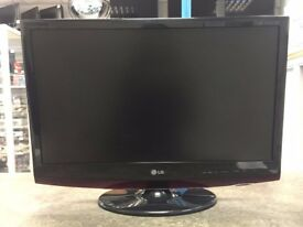 LG Flatron 27 M2762DP 27 inch 1080P Full HD Monitor TV W/remote
