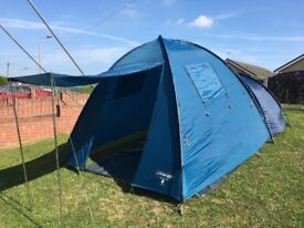 Vango Colorado 400. 4 Man Tent. 3000 Head. Good Clean Condition. All Kit