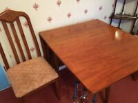 Gorgeous drop leaf table and 4 chairs - MUST GO THIS WEEK.