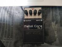 Boss Metal Core ML-2 Guitar Pedal