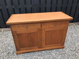 Solid Oak Side Unit