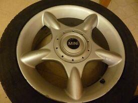 Set 4 Genuine Mini Cooper Wheels Part no. E 6,5J x 16 EH2 IS48