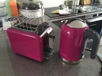Kenwood Kmix kettle and toaster
