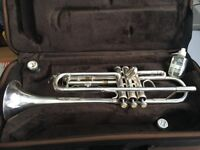 Andreas Eastman Bb Trumpet ETR420GS Silver - Excellent Condition