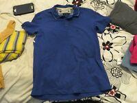 Men's Diesel polo shirt size large blue