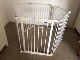 Lindam Metal Foldaway Baby Playpen