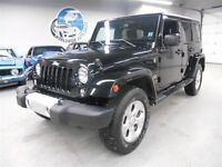 2015 Jeep WRANGLER UNLIMITED SAHARA! AUTO! FINANCING AVAILABLE