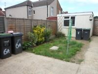 One bed ground /first floor maisonette with enclosed rear garden in central Gosport