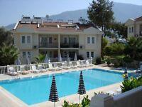 Fantastic Apartment with two Pools & two balconies in Hisaranu, Olu Deniz, Fethiye, Turkey