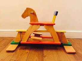 Wooden Rocking Horse (Glider)