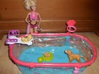Barbie Puppy Swim School
