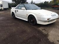 Cheap toyota mr2 project