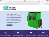 Dpf cleaning using the new flashcleaner