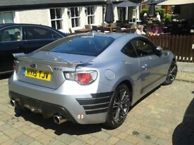 SUBARU BRZ COUPE - 2.0i SE 2dr Silver Met. 2015 man. 2 owns. same person £15500-only 9450 Miles SM6