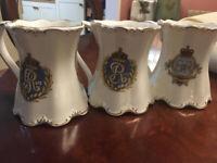 Collection of 3 Royal Coronation Mugs