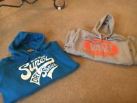 Superdry and Vans jumper