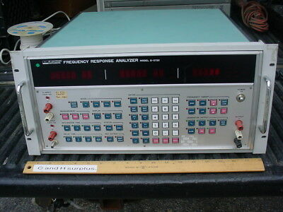 Nf Electronic Instruments S5720 Frequency Response Analyzer