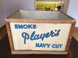 Players Navy Cut Packing Case