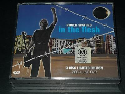 PINK FLOYD In the Flesh by Roger Waters [LIMITED EDITION 2CD+DVD]