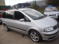 Seat ALHAMBRA Stylance TDI 130,clean tidy 7 seat MPV,1 previous owner,great all round family car,