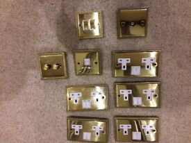 Brass Rope Design selection of sockets/switches