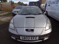 *P/EX TO CLEAR* TOYOTA CELICA T SPORT 190 FULL LEATHER, NICE CLEAN CAR, MOT EXPIRED, STARTS/DRIVES