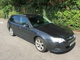 image for 2008 57reg Subaru Legacy 2.0 Estate Black Good Runner