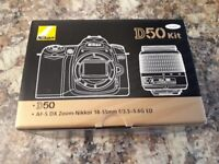 Nikon D50 BODY ONLY with Battery & Charger - £40
