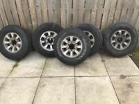 4x4 Alloy wheels