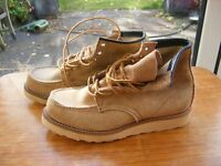 Men's RED WING 8881 Heritage Work Moc Toe Boots, New