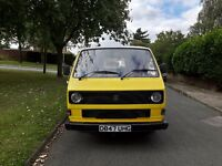 VW T25 camper van project, MOT till Oct, recent 1.9d engine